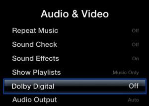 Apple TV No Audio Fix